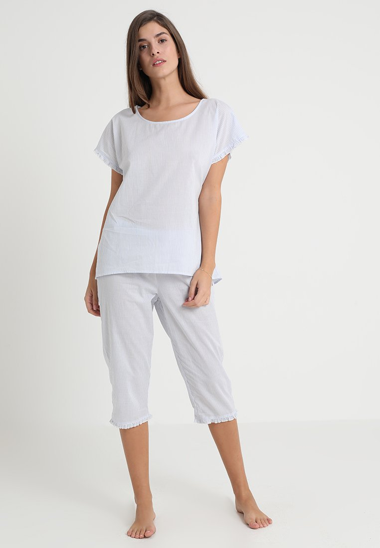 Esprit - LENNY STRIPE - Pyjama - pastel blue