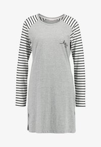Esprit - ELSKE NIGHTSHIRT - Negligé - light grey - 3