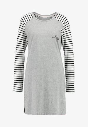 ELSKE NIGHTSHIRT - Nattskjorte - light grey