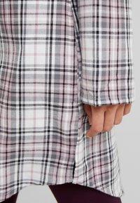 Esprit - FILIPA NIGHTSHIRT CHECK - Noční košile - off white - 5