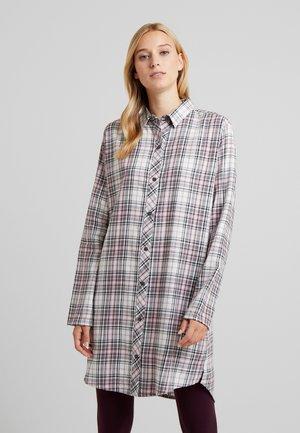 FILIPA NIGHTSHIRT CHECK - Noční košile - off white