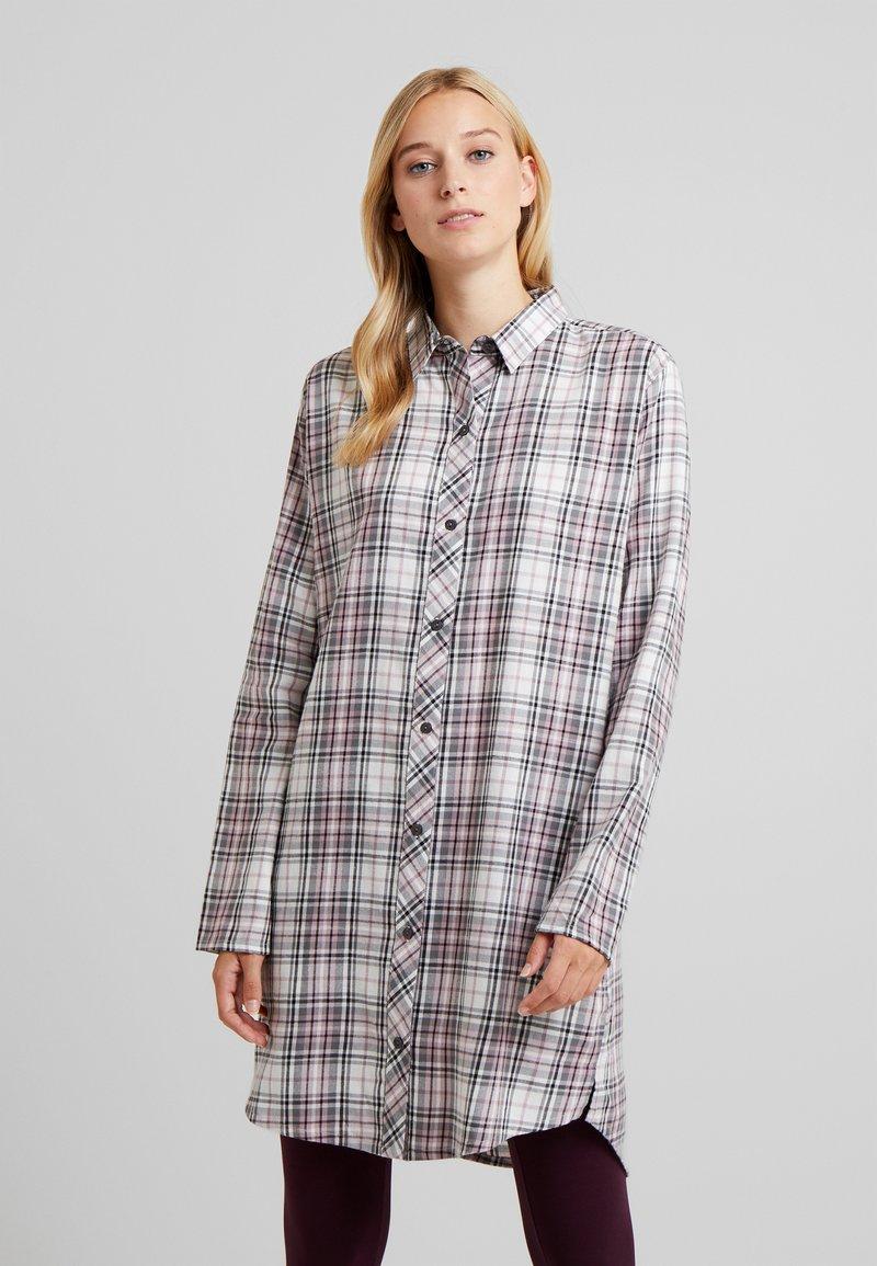 Esprit - FILIPA NIGHTSHIRT CHECK - Noční košile - off white