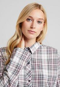 Esprit - FILIPA NIGHTSHIRT CHECK - Noční košile - off white - 3