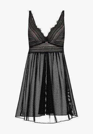 GAHLIA BABYDOLL - Chemise de nuit / Nuisette - black