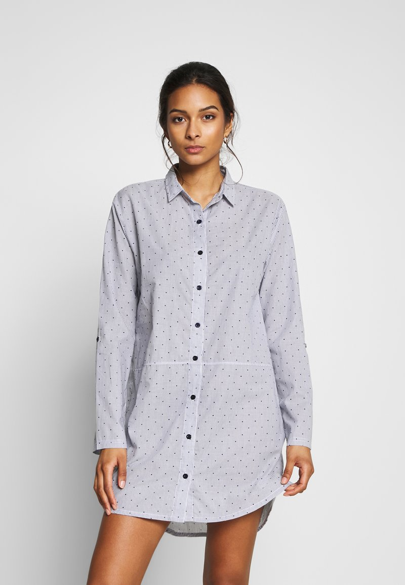 Esprit - CORRIE - Nattskjorte - blue/lavender
