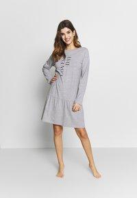 Esprit - ANIE CAS - Koszula nocna - medium grey - 1