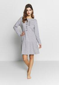 Esprit - ANIE CAS - Koszula nocna - medium grey - 0