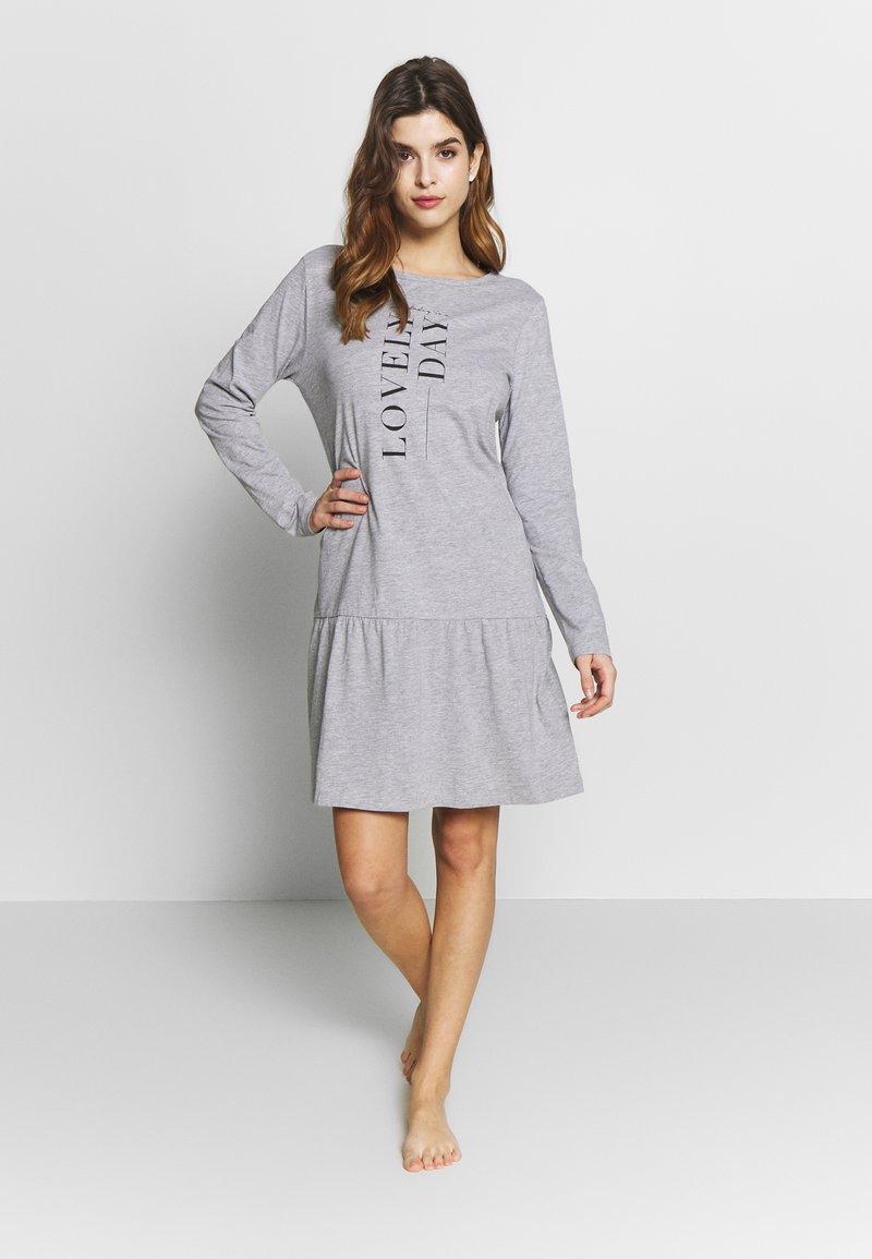 Esprit - ANIE CAS - Koszula nocna - medium grey