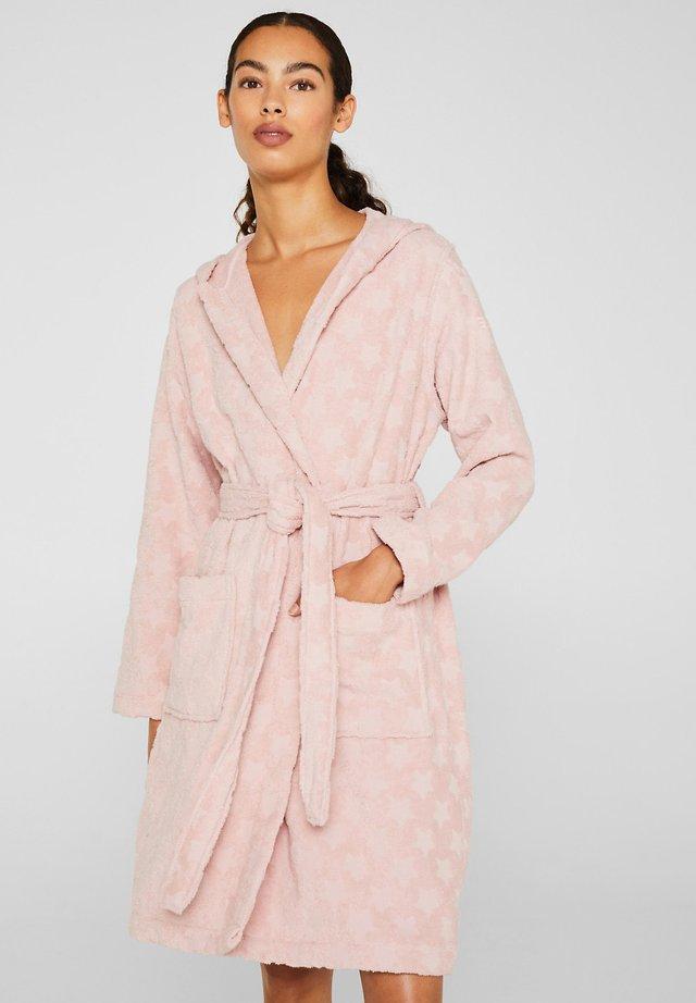 MIT STERN-INTARSIE - Badekåber - light pink