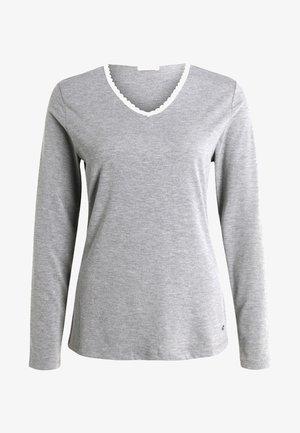 SINGLE SHIRT - Pyjama top - medium grey