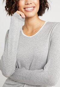 Esprit - SINGLE SHIRT - Pyjamashirt - medium grey - 5