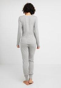Esprit - SINGLE SHIRT - Pyjamashirt - medium grey - 2