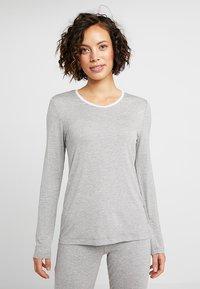 Esprit - SINGLE SHIRT - Pyjamashirt - medium grey - 0
