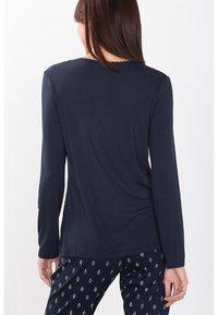 Esprit - SINGLE SHIRT - Pyjama top - dark blue - 1