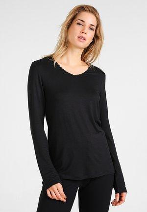 SINGLE SHIRT - Pyjamashirt - black