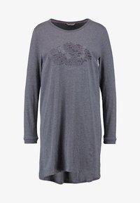 Esprit - JELDA NIGHTSHIRT MELANGE - Noční košile - navy - 3