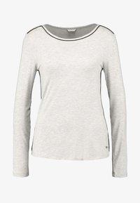 Esprit - JAYLA SINGLE SHIRT - Pyjamasoverdel - light grey - 4