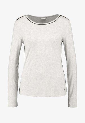 JAYLA SINGLE SHIRT - Pyjamasoverdel - light grey