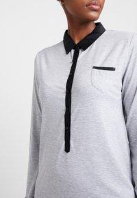 Esprit - KAIH NIGHTSHIRT SOLID - Noční košile - medium grey - 4
