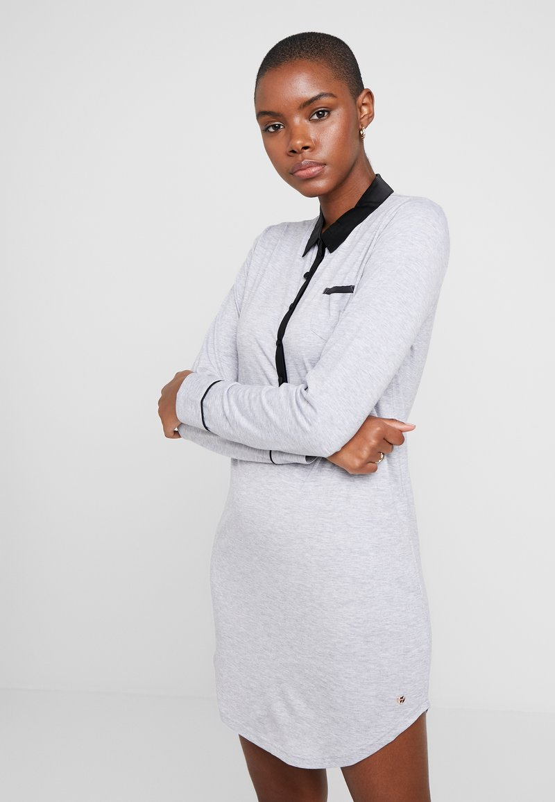 Esprit - KAIH NIGHTSHIRT SOLID - Noční košile - medium grey