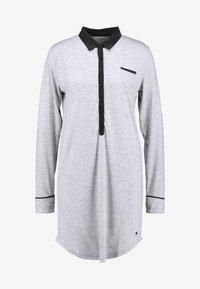 Esprit - KAIH NIGHTSHIRT SOLID - Noční košile - medium grey - 5