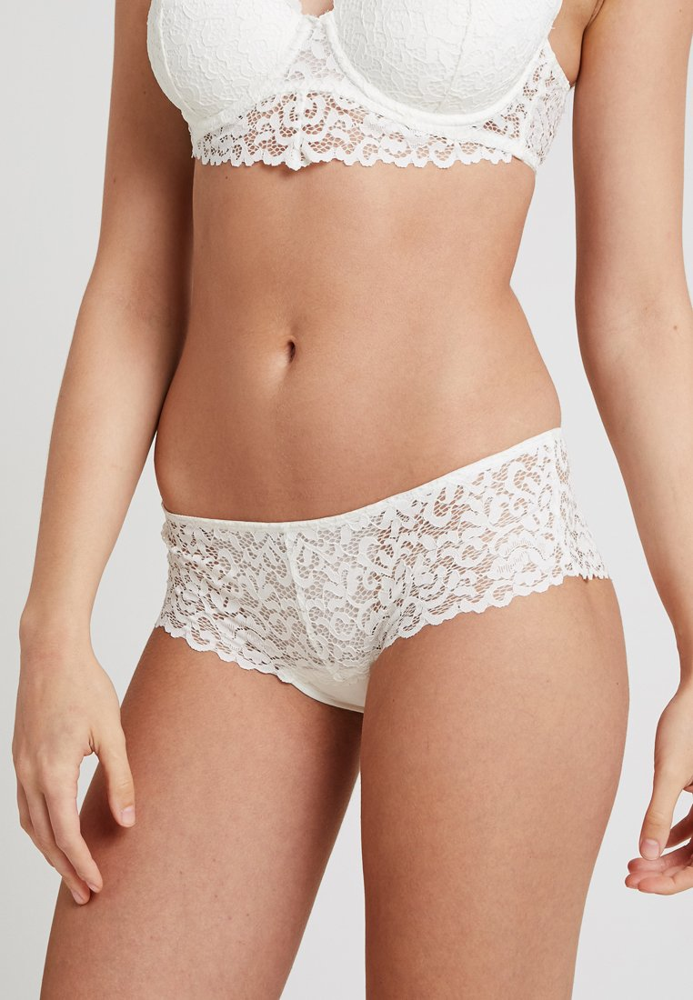 Esprit - STAR VALLEY BRAZILIAN HIPSTER SHORTS - Panties - off white
