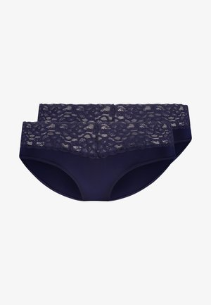 DAILY MICRO HIPSTER 2 PACK - Underbukse - navy