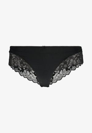 KELSIE BRAZILIAN HIPSTER - Pants - black