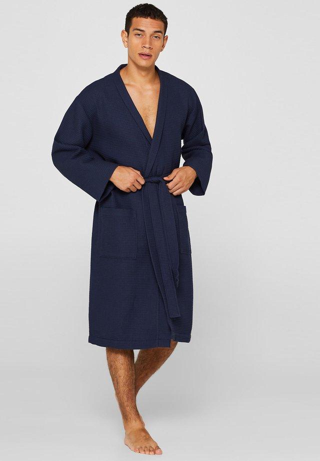 Morgonrock - navy blue