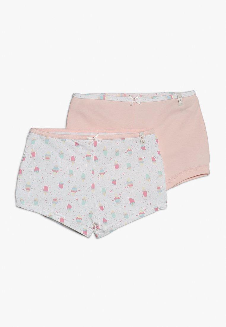 Esprit - DEA HOT PANTS 2 PACK - Bokserit - pastel pink