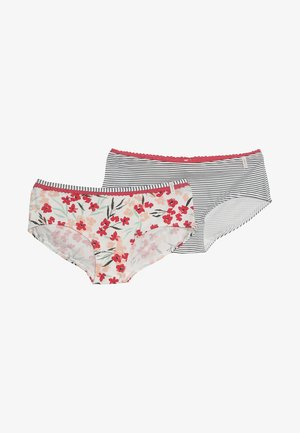 GESINE HIP SHORTS 2 PACK - Pants - off white
