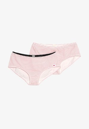 HAILEY HIP SHORTS 2 PACK - Briefs - berry red