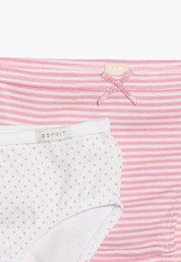 Esprit - GIRLIE MIX MINI BRIEF 2 PACK - Kalhotky - white - 4