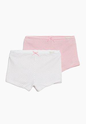 GIRLIE MIX HOTPANTS 2 PACK - Bokserit - white