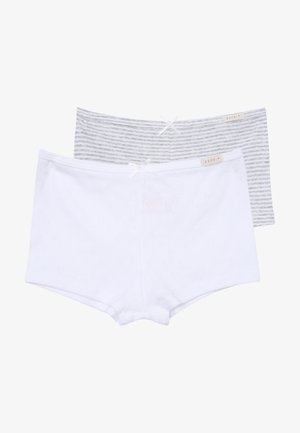 GIRLIE MIX HOTPANTS 2 PACK - Culotte - light grey