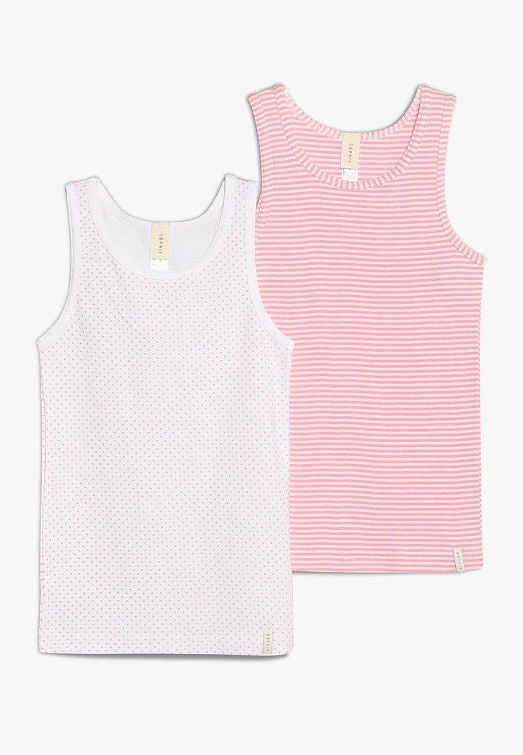 Esprit - GIRLIE MIX TANK 2 PACK - Tílko - white