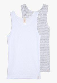 Esprit - GIRLIE MIX TANK 2 PACK - Undershirt - light grey - 0