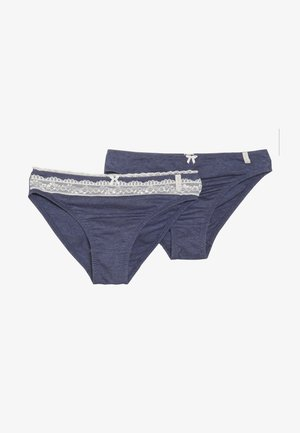 LOVELY MELANGE BRIEF 2 PACK - Briefs - navy
