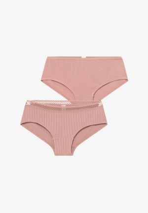 BETSIE HIPSTER 2 PACK - Onderbroeken - old pink