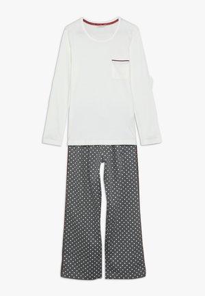 FINJA SOLID SET - Pyžamová sada - light grey