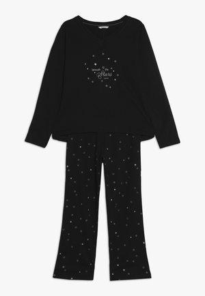 KIKU PYJAMA SOLID  - Pyjama - black