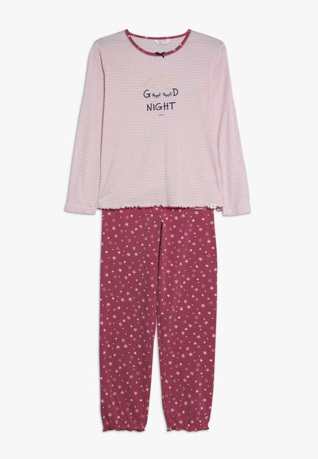 JOSEVINE STRIPE - Pyjamas - berry red