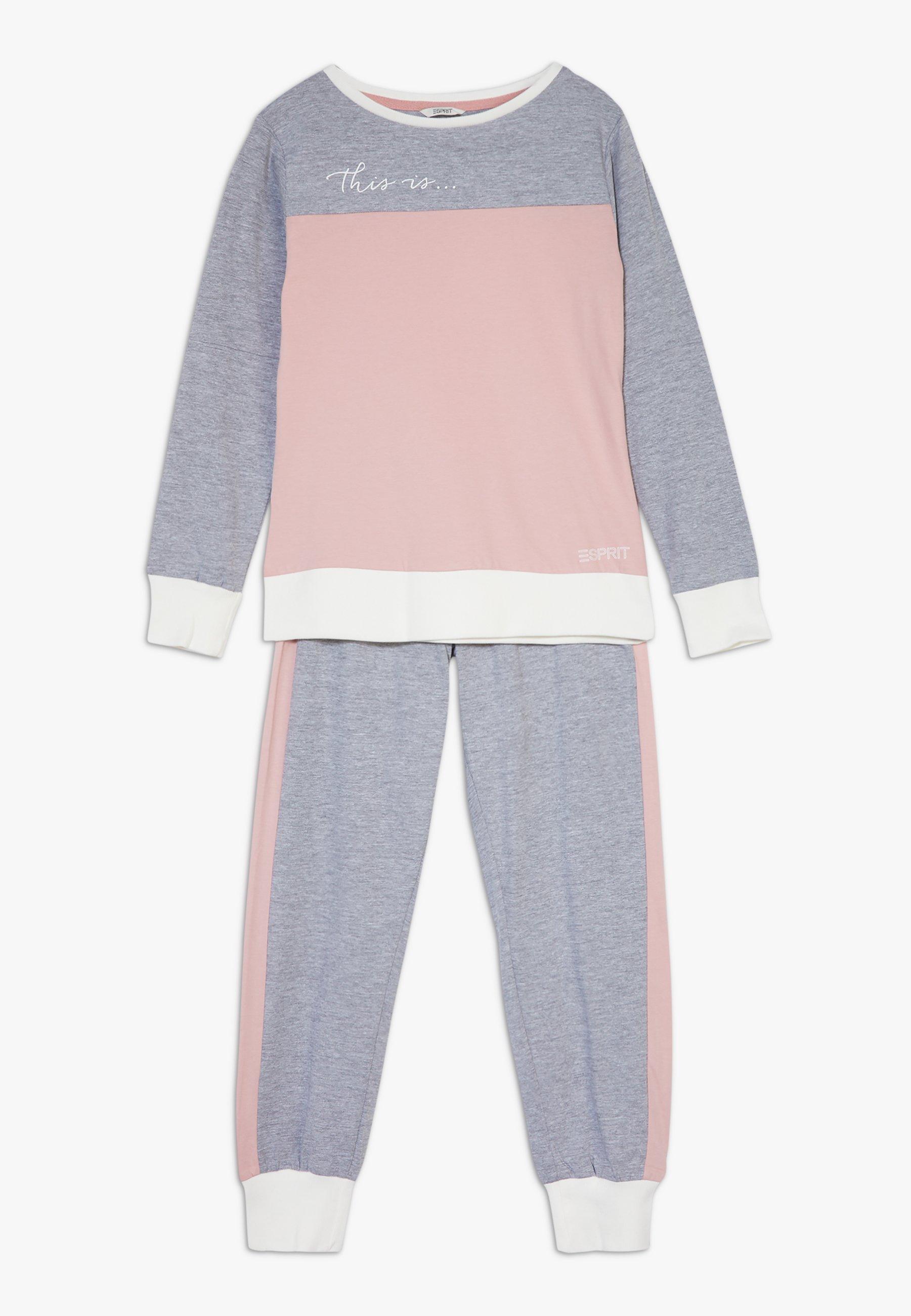 Najtańsze Zakupy Esprit ANELLE SET - Piżama - old pink | Dzieci Odzież 2020 NAXnc