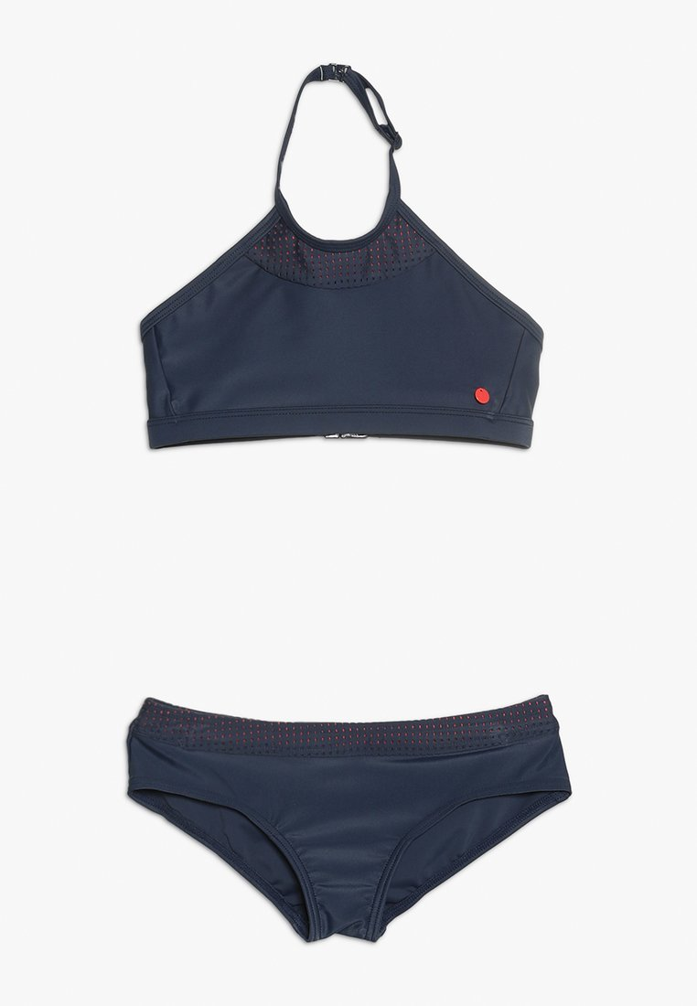 Esprit - BRAVA BEACH AMERICAN NECKHOLDER HIPSTER - Bikini - navy