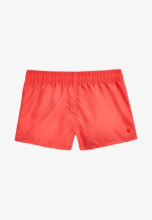 Swimming shorts - coral red