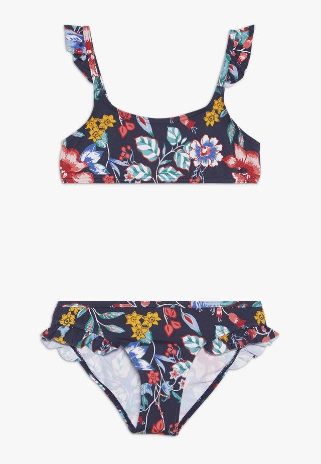 JASMINE BEACH BUSTIER BRIEF SET - Bikinit - ink