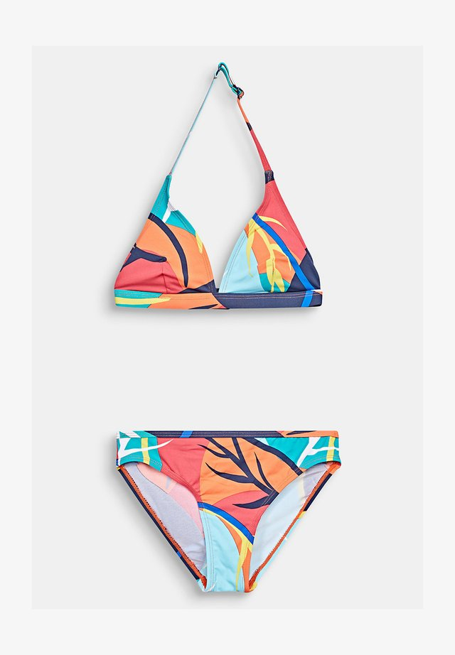 MIT PRINT - Bikini - red orange