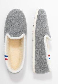 Espadrij l´originale - CHALET TRADITIONAL ELLE - Pantoffels - gris/nature - 3