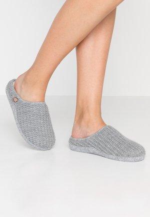 PANTOUFLE SABOT GLITTER - Slippers - gris