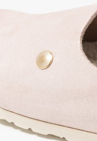Espadrij l´originale - CLOQUETTE GLAM FURRY - Domácí obuv - rosé - 2